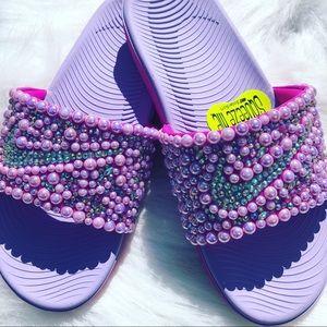 Nike Shoes - Custom-Made Nike Slides
